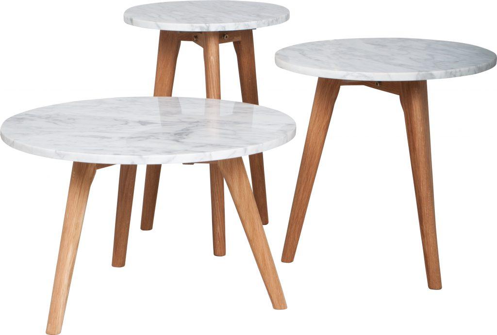 table d 39 appoint marbre blanc deko de l 39 eau. Black Bedroom Furniture Sets. Home Design Ideas