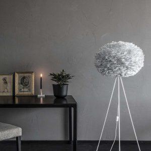 "Tripod ""Floor"" White pour lampes UMAGE"