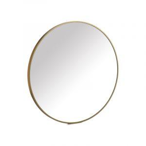 Miroir rond  – Doré – Small
