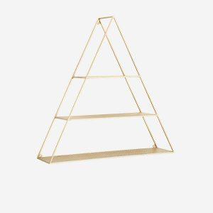 Etagère murale triangulaire