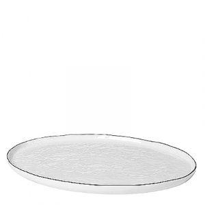 "Grand plat oval ""Salt"""
