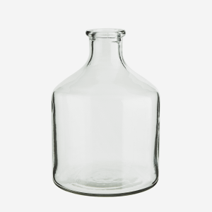 "Vase en verre ""Bottle"""
