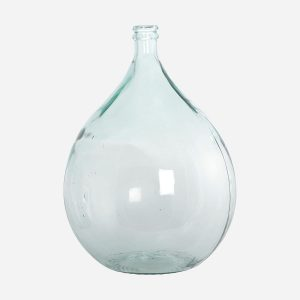 """Vase """"Bouteille"""" – Clear"""