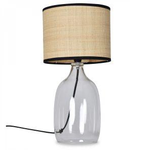 Lampe de table – transparente