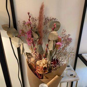 """Bouquet de fleurs séchées """"Jade"""""""
