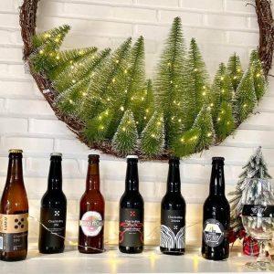 """Pack de 6 bouteilles de Bière & 2 verres – """"Le Martinet 33"""""""