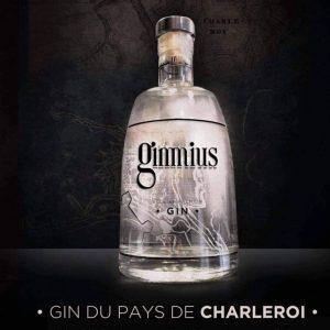 """Bouteille de Gin """"GIMMIUS"""""""